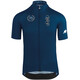 assos FORTONI Bike Jersey Shortsleeve Men blue/black